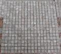 Crema Luna / Golden Flower Beige marble mosaic tile