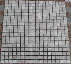 BS Beige marble mosaic tile