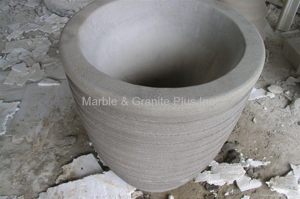 Sandstone planter 1