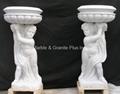 Marble Planter & Vase