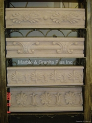 Carved Marble Border