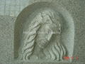 Carved Jesus monument