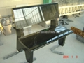 Shanxi Black granite bench