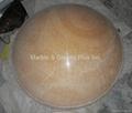 Honey Onyx Bowl Lampshade