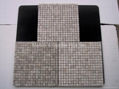 Bianco Gray Marble Mosaic Tile
