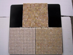 Chinese Cream Valencia marble mosaic tile