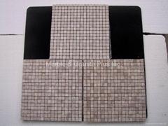 Bianco Pink marble mosaic tiles