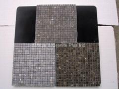 Coffee Brown marble mosaic tiles