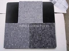 Palace Grey marble mosaic tiles
