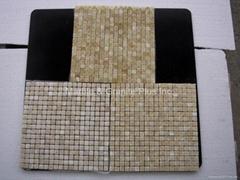 Honey Onyx mosaic tiles