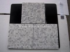 Bianco Carrara marble mosaic tiles
