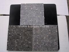 Oriental Brown marble mosaic tiles
