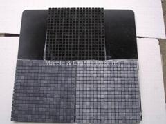 Elite Black marble mosaic tiles