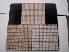 Oriental Pink marble mosaic tiles