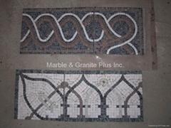 Marble Mosaic Border & Corner