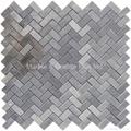Bluestone Herringbone Mosaic Tile