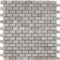 Turkish Beige Travertine Brick Pattern Mosaic Tile