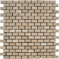 Royal Botticino Brick Pattern Mosaic Tile