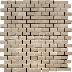 Royal Botticino Brick Pattern Mosaic Tile