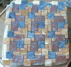 Opus serial Marble Mosaic Tiles (with gap)