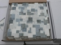 Opus Azzurro marble mosaic tiles (without gap)