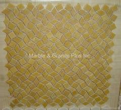 Pattern Mosaic Tille, Honey Onyx