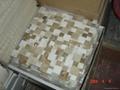 Opus Marrone Marble Mosaic Tile