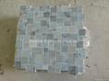 Opus Blue Moonstone Marble Mosaic Tiles
