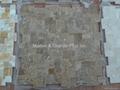 Opus Noce Travertine Mosaic Tile