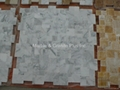 Opus Bianco Carrara Marble Mosaic Tiles