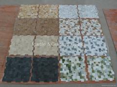 Opus Series Marble Mosaic Tiles