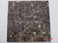 Marron Emperador Marble Mosaic Tiles