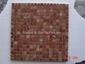 Rojo Alicante Marble Mosaic Tile