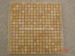 Giallo Oriental Marble Mosaic Tiles