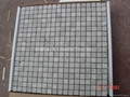 Cloudy Grey Marble Mosaic Tiles