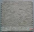 Crema Marfil Split finish marble mosaic tile
