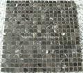 Tequila Brown, Chinese Marron Emperador mosaic tiles
