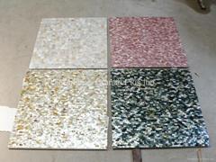 Solid Mother of Pearl Tile (porcelain tile backing)