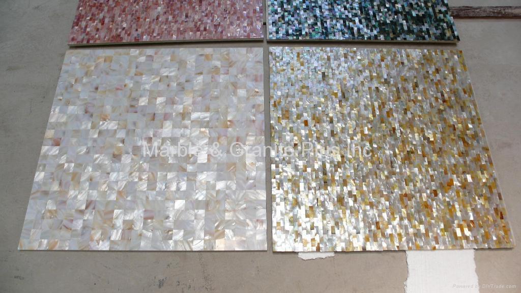 Solid Mother Of Pearl Tile Porcelain Tile Backing China