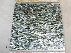 Solid Blacklip (Tahiti) Mother of Pearl Tile