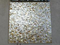 Solid Goldlip Mother of Pearl Tile