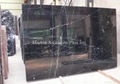 Nero Marquina marble slab (less white vein)