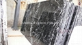 Nero Marquina marble slab (more white veins)