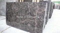Tequila Brown, Chinese Marron Emperador marble slab