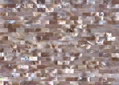 Pink American Shell MOP Tile