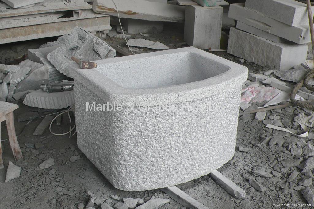 Granite Planter / Fountain 3
