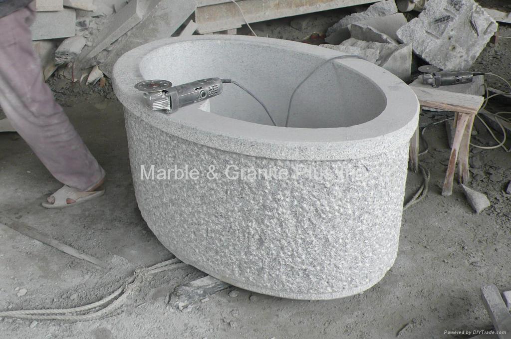 Granite Planter / Fountain 4