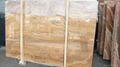 Timber Brown marble slab