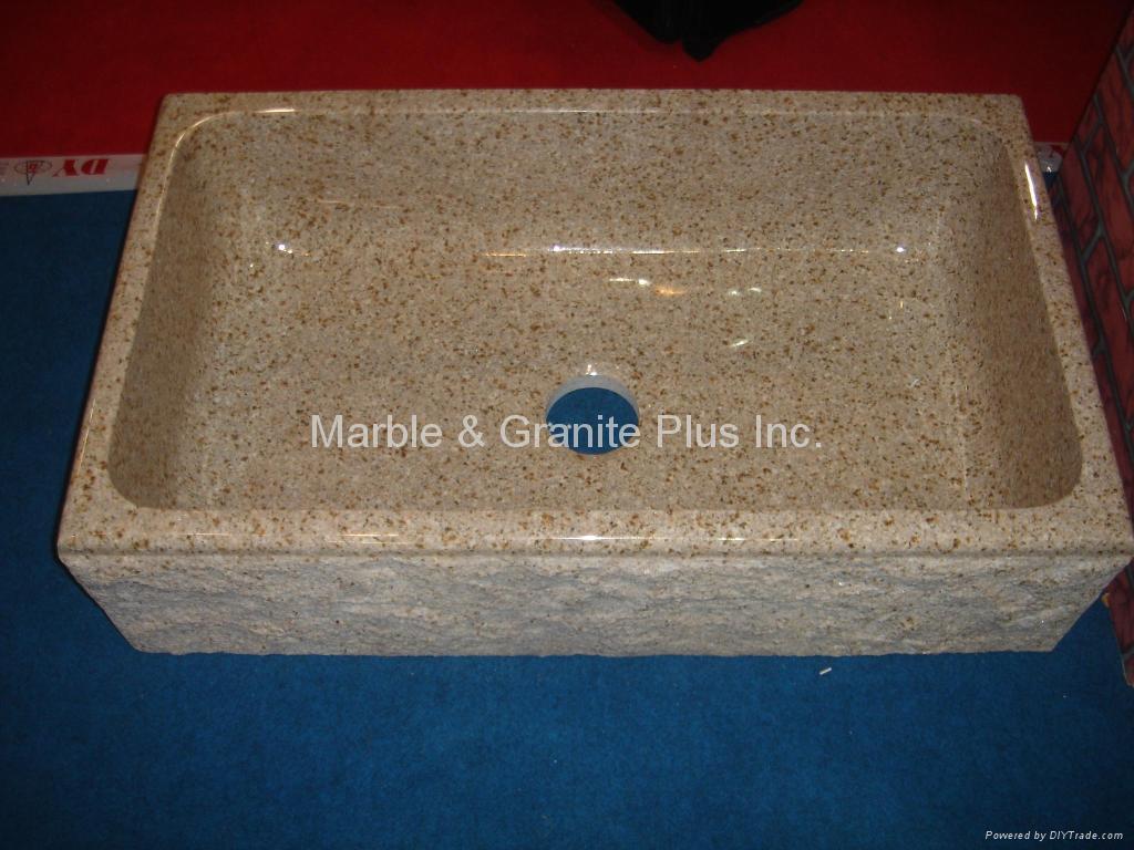 Granite farmhouse sink 4