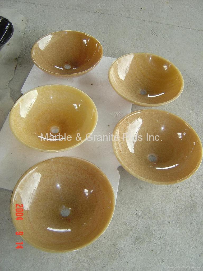Honey Onyx sinks 2